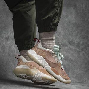 🌸 NIKE Air Jordan Delta Sneakers Shoes Tan